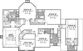 six bedroom house 6 bedroom single family house plans print this floor plan print