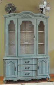 Painted Furniture Ideas Before And After Painted French China Cabinet What A Gorgeous Piece Of Furniture