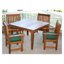 cedar dining room table creekvine designs american forest cedar adirondack chair and table