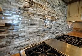 pictures of backsplashes for kitchens adorable kitchen recycled glass backsplash tile design ideas for