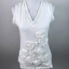 cynthia rowley blouse cynthia rowley s 100 cotton tank cami tops blouses ebay