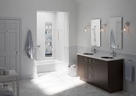 shower doors of houston spaces transitional with bath tub bathroom