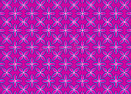 floral pink gift wrapping paper pattern stock illustration image