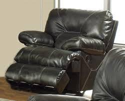 cortez rocking reclining love seat in dark brown leather by