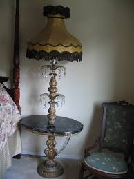 Antique Table Lamps Vintage Floor Lamps For Added Style And Grandeur
