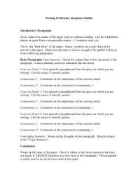 response essay outline essay outline