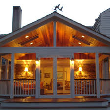 customized screened porch archadeck outdoor living