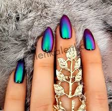 8 best mirror nails images on pinterest nail art 4th of july