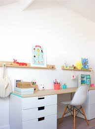 Small Kid Desk 20 Cool And Budget Ikea Desk Hacks Hative