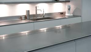 plan de travail cuisine inox sur mesure les plans de travail en inox de 12 mm à 20 mm d épaisseur sur mesure
