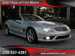 ft myers mercedes 2007 mercedes sl550 convertible ft myers fl for sale in fort