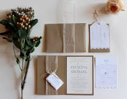 rustic chic wedding invitations rustic chic wedding invitation