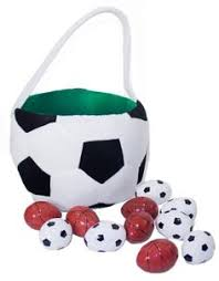 Easter Basket Decorating Games by Soccer Easter Basket This Is What I Do Pinterest Easter