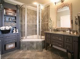 Shower Stall Bathtub Corner Shower Stall Bathroom Contemporary With Artwork Corner Tub