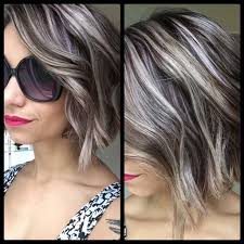 black lowlights in white gray hair the most awesome images on the internet grey highlights gray