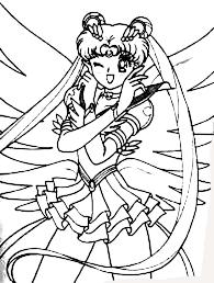 usagi tsukino anime sailor moon colouring usagi