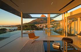 Glass Wall House Awesome The Terrace House Design Ideas With Minimalis Style