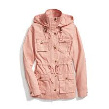 stitch fix spring outerwear blush pink anorak stylist picks