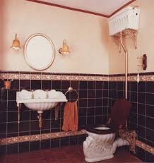 Antique Looking Bathroom Vanity by London High Tank Toilets Bathroom Victorian With Ornate