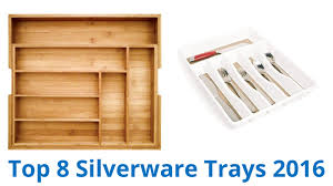 Bamboo Silverware Holder 8 Best Silverware Trays 2016 Youtube