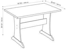 Dining Room Table Sizes  Bedroom The Edgeware Dining Collection - Standard dining room table size