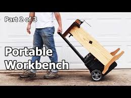 Diy Portable Workbench With Storage Free Plans by 25 Unique Portable Workbench Ideas On Pinterest Foldable Table