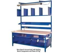 warehouse bench packing bench components warehouse equipment supply co