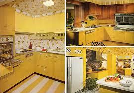 yellow and kitchen ideas yellow retro kitchens images free