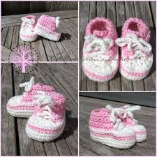 newborn pattern video knot your nana s crochet crochet converse newborn high tops