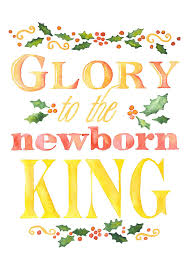 religious christmas card sayings to the newborn king watercolor christmas card set