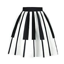 pleated skirt piano high waist pleated skirt artistic pod