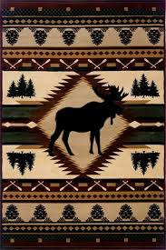 Moose Area Rugs United Weavers Designer Contours Q Moose Wilderness Rugs