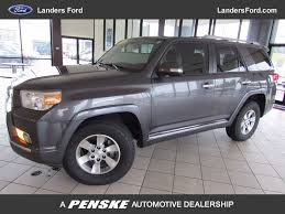 toyota 4wd 2013 used toyota 4runner 4wd 4dr v6 sr5 at landers ford serving