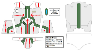 overlapping chest diamond attention crl design check