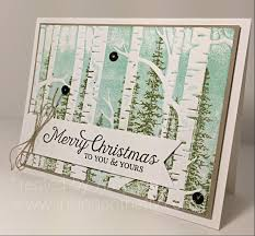 woodland embossing folder card tutorial by jasper www