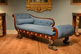 chair classy chaise longue or daybed early century english