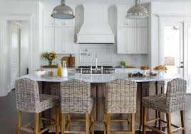 curved kitchen islands wicker counter stools curved kitchen island with stool white rattan
