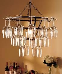 Wine Glass Chandelier Diy The 25 Best Wine Glass Chandelier Ideas On Pinterest Can With