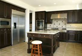kitchen contractors island kitchen simple modern contemporary interior brown finish
