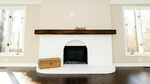 how to paint fireplace brick paint your brick fireplace in two
