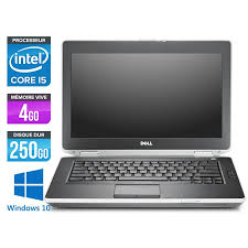ordinateur portable occasion dell latitude e6430 i5 4go