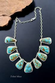 silver turquoise necklace images Native american indian jewelry navajo turquoise necklace JPG