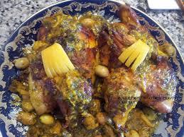 cuisine marocaine poulet aux olives poulet roti au citron confit a la marocaine la cuisine de nad