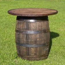 whiskey barrel table for sale whiskey wine barrel cocktail tables for the patio whiskey barrel