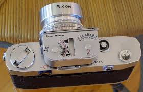 shoe light meter ricoh 500 plus oem light meter the camera collector