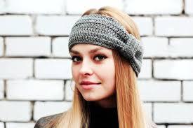 crochet ear warmer headband gray crochet ear warmer headband crochet ear warmer headband