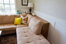 Sofa Table Against Wall Diy Behind The Couch Table We Actually Need One Of These And