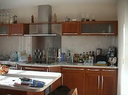 notre cuisine vos photos de cuisines notre cuisine inox et poirier massif du bresil