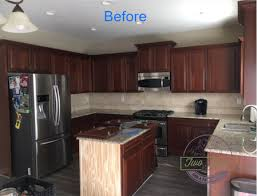 kitchen cabinets top coat category how to paint kitchen cabinets two dogs and a