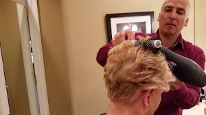 how to cut joan lundun hairstyle the joan lunden do youtube